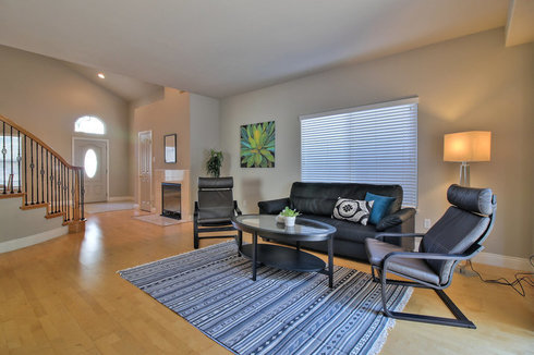 Spacious, Updated 4 BR in West San Jose, CA