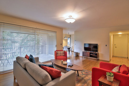 Sleek 3BR Condo 5 minutes from Stanford