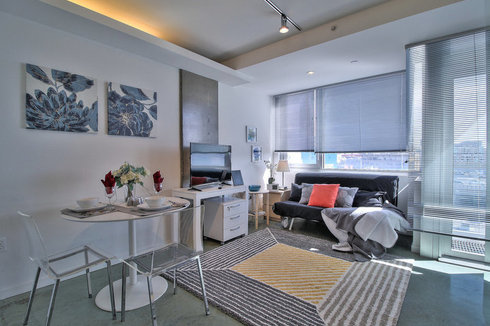 Trendy, Furnished Studio in SoMa, San Francisco