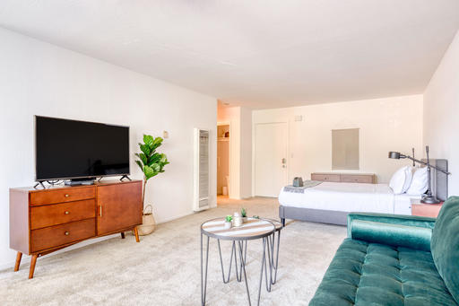 image 2 furnished Studio bedroom Apartment for rent in Mountain View, San Mateo (Peninsula)