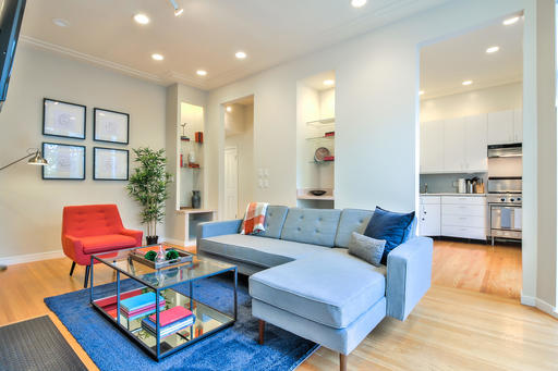 image 1 furnished 2 bedroom Apartment for rent in Noe Valley, San Francisco