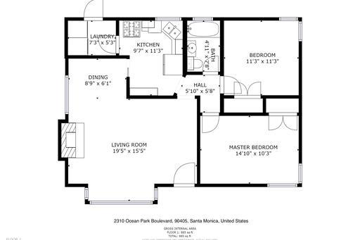 image 10 furnished 2 bedroom House for rent in Santa Monica, West Los Angeles