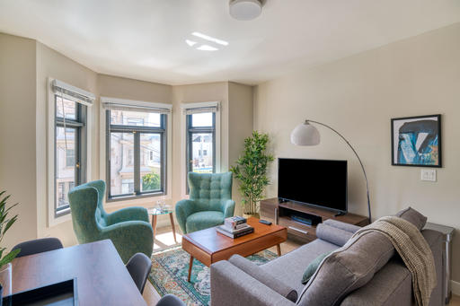 image 2 furnished 2 bedroom Apartment for rent in Nob Hill, San Francisco