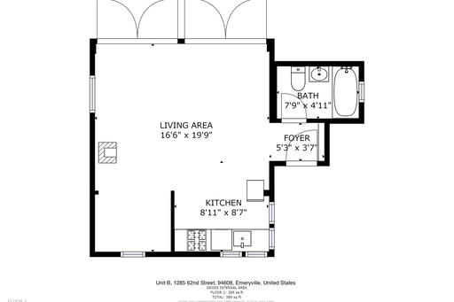 image 10 furnished Studio bedroom House for rent in Emeryville, Alameda County