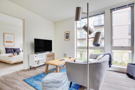 image 3 furnished 2 bedroom Apartment for rent in Mercer Island, Seattle Area