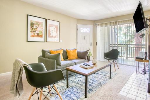 image 1 furnished 1 bedroom Apartment for rent in Santa Clara, Santa Clara County