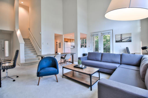 image 2 furnished 3 bedroom Apartment for rent in Mountain View, San Mateo (Peninsula)
