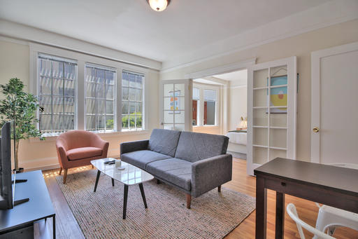 image 2 furnished 1 bedroom Apartment for rent in Nob Hill, San Francisco