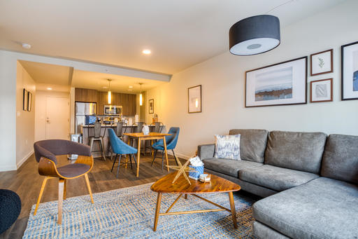 image 2 furnished 1 bedroom Apartment for rent in Bellevue, Seattle Area