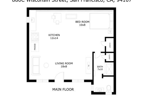 image 10 furnished Studio bedroom Apartment for rent in South of Market, San Francisco