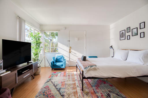image 2 furnished Studio bedroom Apartment for rent in Culver City, West Los Angeles