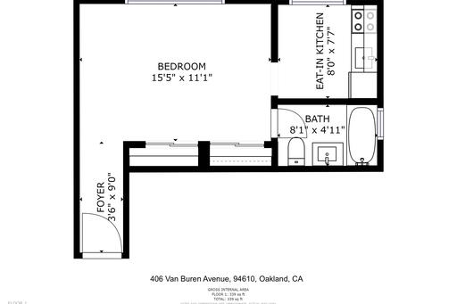 image 9 furnished Studio bedroom Apartment for rent in Piedmont, Alameda County