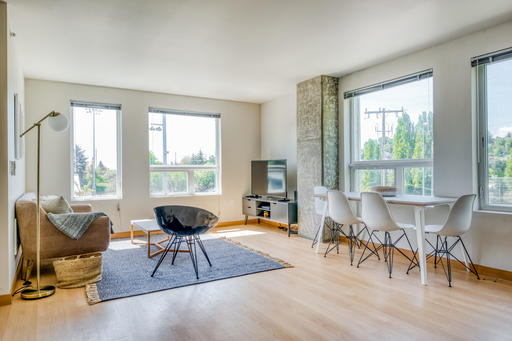 image 2 furnished 2 bedroom Apartment for rent in Queen Anne, Seattle Area