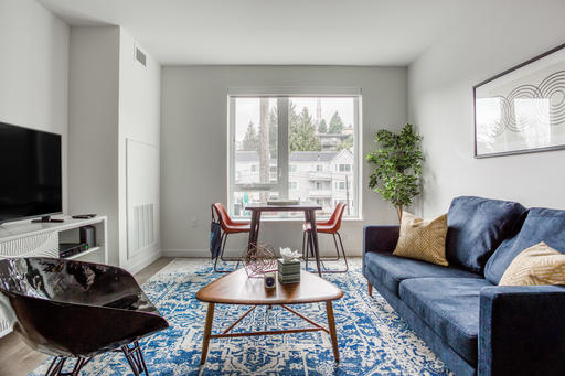 image 2 furnished 1 bedroom Apartment for rent in Queen Anne, Seattle Area