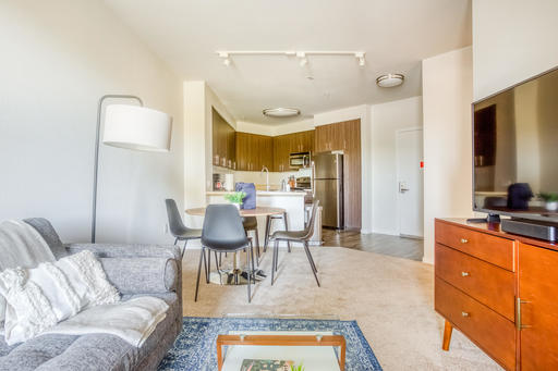 image 1 furnished 1 bedroom Apartment for rent in Redwood City, San Mateo (Peninsula)