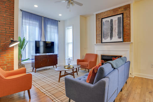 image 2 furnished 3 bedroom Apartment for rent in Adams Morgan, DC Metro