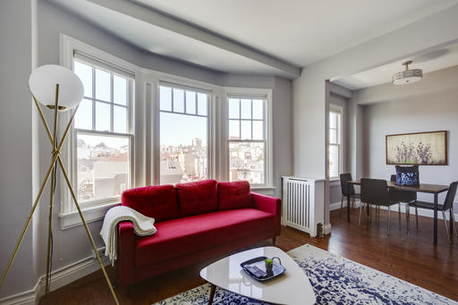 image 1 furnished 1 bedroom Apartment for rent in Pacific Heights, San Francisco